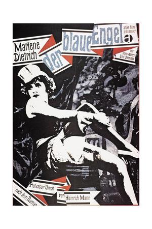 """The Blue Angel, 1930 """"Der Blaue Engel"""" Directed by Josef Von Sternberg Giclee Print"""