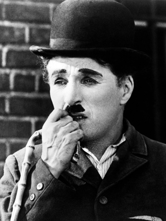 "Charlie Chaplin. ""City Lights"" 1931, Directed by Charles Chaplin Photographic Print"