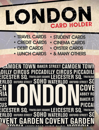 London Places Card Holder Aparte producten