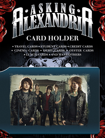 Asking Alexandria Card Holder Aparte producten