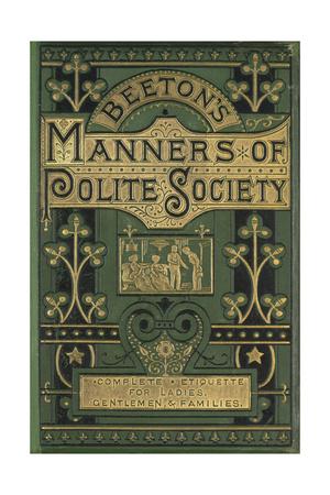 Manners Giclee Print