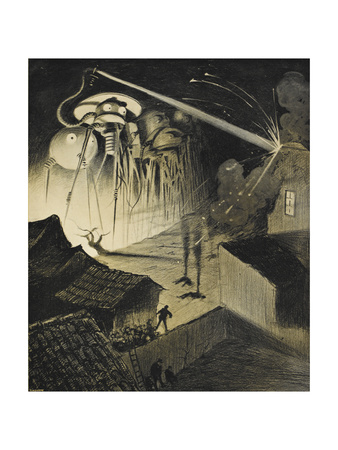 [The War Of the Worlds Giclee Print by Henrique Alvim-Correa