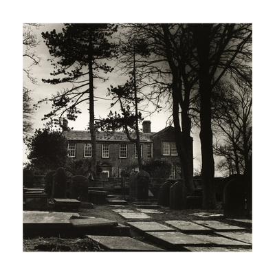 Howarth Parsonage, House Of the Brontes Giclee Print by Fay Godwin