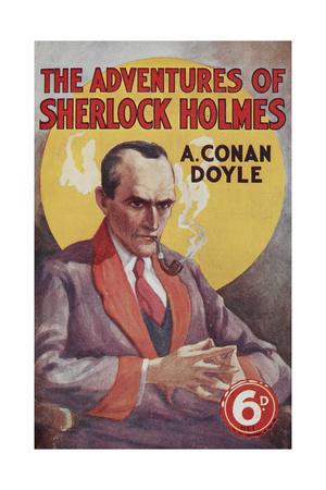 The Adventures Of Sherlock Holmes Giclee Print by Arthur Conan Doyle
