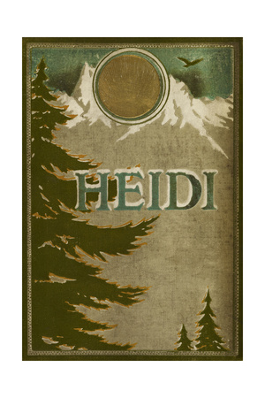 Heidi Front Cover Giclee Print by Lizzi Lawson
