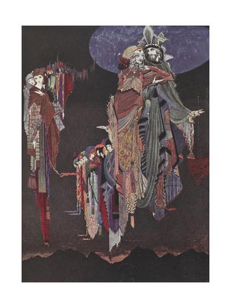 Monas and Una Giclee Print by Harry Clarke