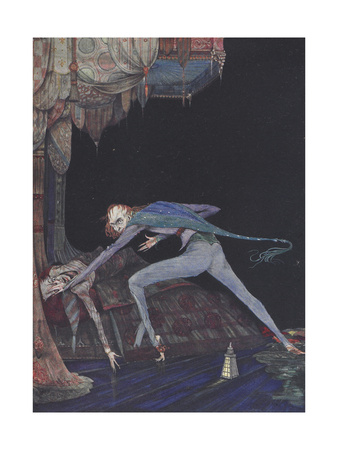 Macabre Giclee Print by Harry Clarke