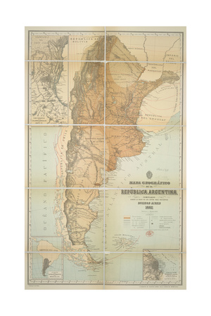 Argentina Giclee Print