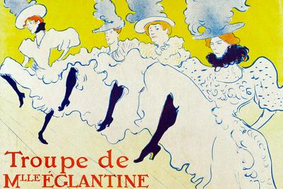 Henri de Toulouse-Lautrec La Troupe de Mlle Eglantine Prints by Henri de Toulouse-Lautrec