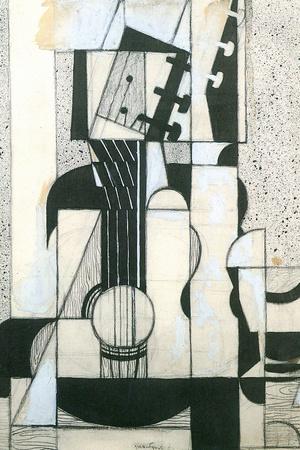 Juan Gris Still Life with Guitar Cubism Prints by Juan Gris