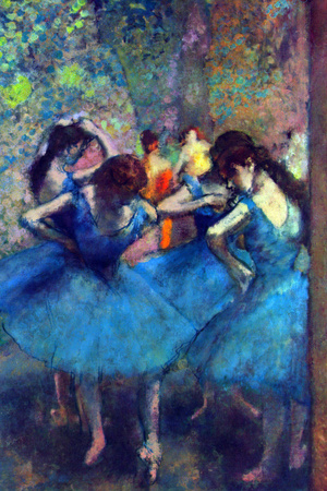 Edgar Degas Dancers Print by Edgar Degas
