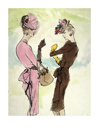 "Vogue - June 1944 Giclee Print by Carl ""Eric"" Erickson"