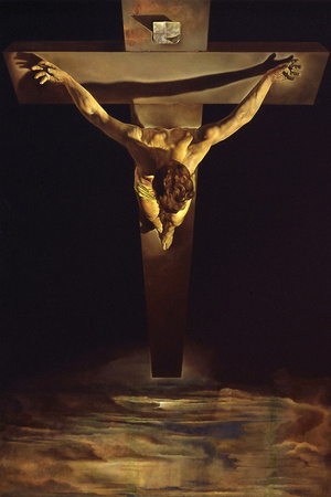 Dali Christ of St John of the Cross Posters by Salvador Dalí