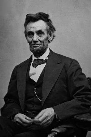 Abraham Lincoln Seated by Alexander Gardner Photo by Alexander Gardner