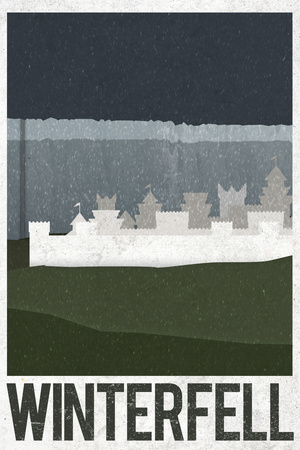 Winterfell Retro Travel Posters!