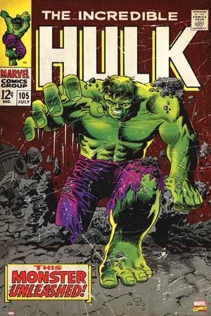 Marvel - Hulk Print