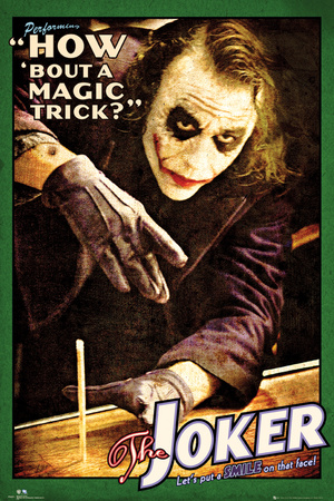 Batman: The Dark Knight - Joker Magic Trick Photo