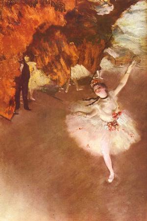 Edgar Germain Hilaire Degas (The Prima Ballerina) Posters by Edgar Degas