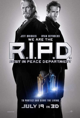 R.I.P.D. (Ryan Reynolds, Jeff Bridges, Mary-Louise Parker) Movie Poster Masterprint
