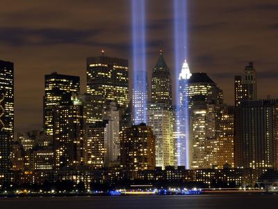 One World Trade Center tribute New York City skyline photo print