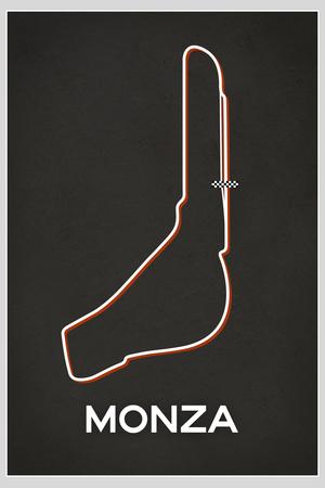 Monza Race Course Posters