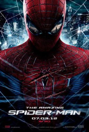 Amazing Spider-Man (Andrew Garfield, Emma Stone) Movie Poster Lámina