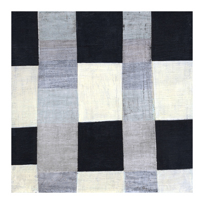Gray Plaid 2 Prints by Laura Nugent
