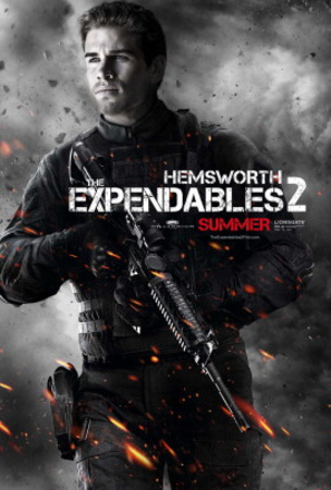 The Expendables 2 (Liam Hemsworth) Movie Poster Posters