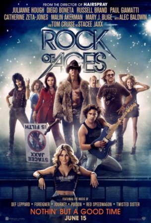 Rock of Ages (Tom Cruise, Catherine Zeta Jones, Alec Baldwin) Movie Poster Pósters