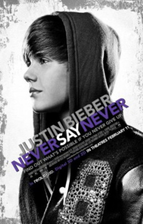 Justin Bieber: Never Say Never Movie Poster Poster