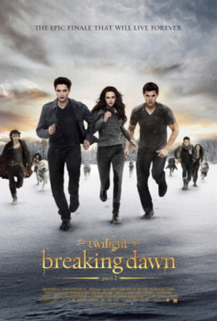 The Twilight Saga Breaking Dawn Part 2 Movie Poster Poster