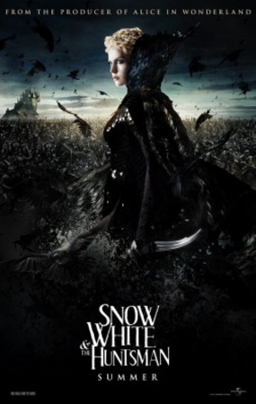 Snow White and the Huntsman (Charlize Theron, Kristen Stuart, Chris Hemsworth) Movie Poster Posters