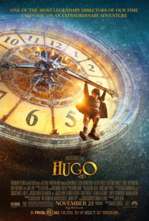 Hugo (Ben Kingsley, Sacha Baron Cohen, Asa Butterfield) Movie Poster Pósters