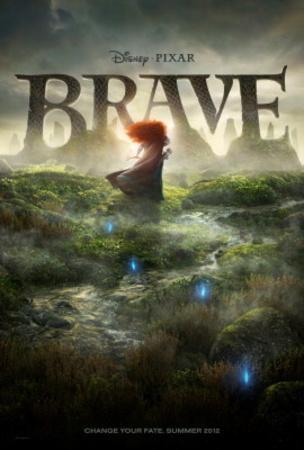 Brave (Princess Merida) Disney-Pixar Movie Poster Pósters