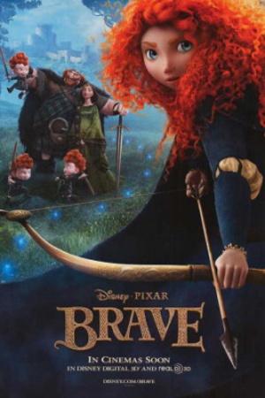 Brave (Princess Merida) Disney-Pixar Movie Poster Láminas