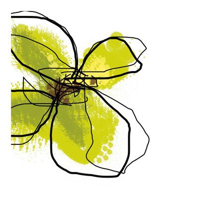 Green Petals Prints by Jan Weiss