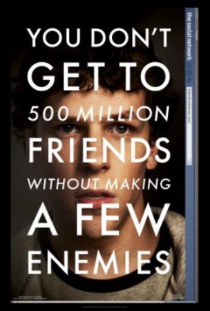 The Social Network (Jesse Eisenberg) Movie Poster Poster