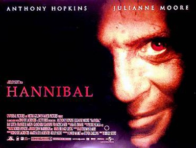 Hannibal (Anthony Hopkins, Julianna Moore) Movie Poster Poster