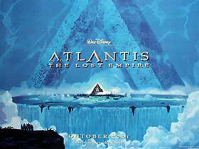 Atlantis: The Lost Empire Movie Poster Posters