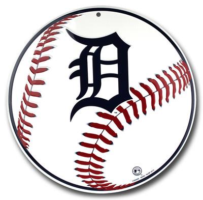 Detroit Tigers Tin Sign Tin Sign