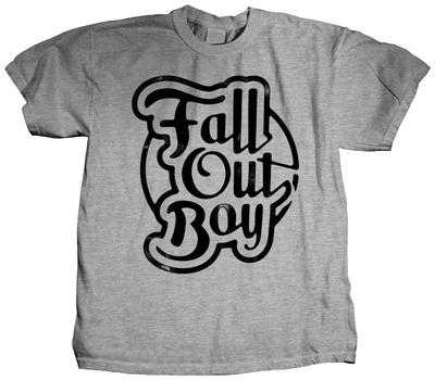 Fall Out Boy - Script T-shirts