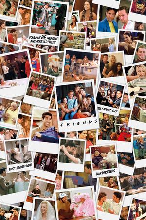 Friends - Polaroids Posters