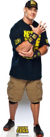 John Cena - Navy and Gold Lifesize Standup Cardboard Cutouts