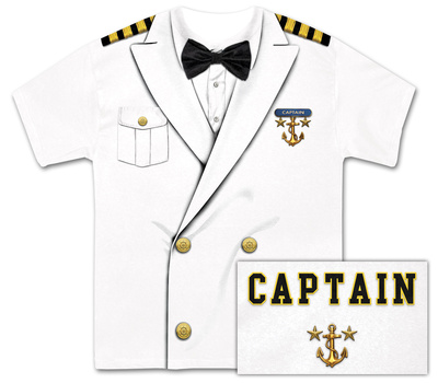 Captain Costume Tee Sublimated