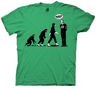 Big Bang Theory - Evolution T-shirts