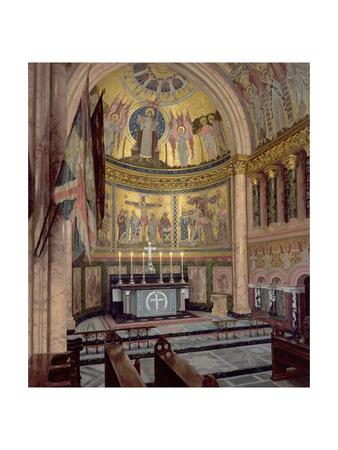 The Guards' Chapel, Wellington Barracks, 1942 Giclee Print by Leonard Campbell Taylor