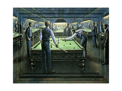 The Hot Shot Giclee Print by P.J. Crook