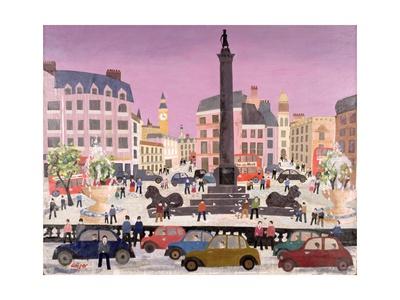 Trafalgar Square Giclée-tryk af William Cooper