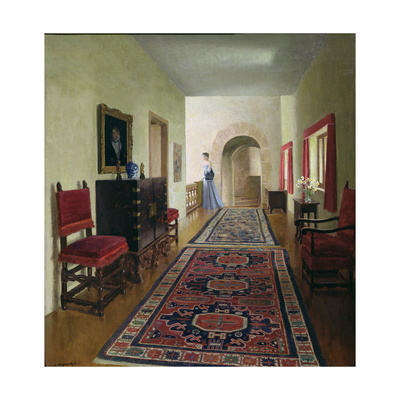 The Gallery, 1952 Giclee Print by Leonard Campbell Taylor