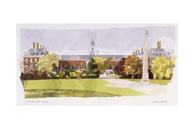 The Royal Hospital, Chelsea, 1992 Giclee Print by Annabel Wilson